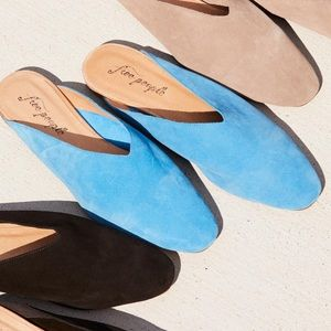 Free people suede flats